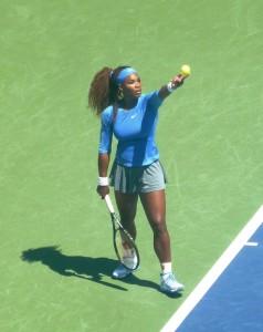 Serena Williams (vs. Genie Bouchard)